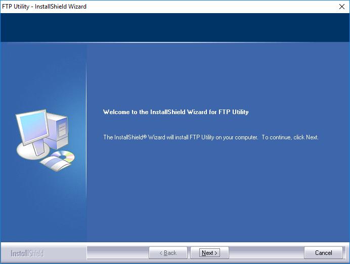 Instalacja FTP Utility skanowanie